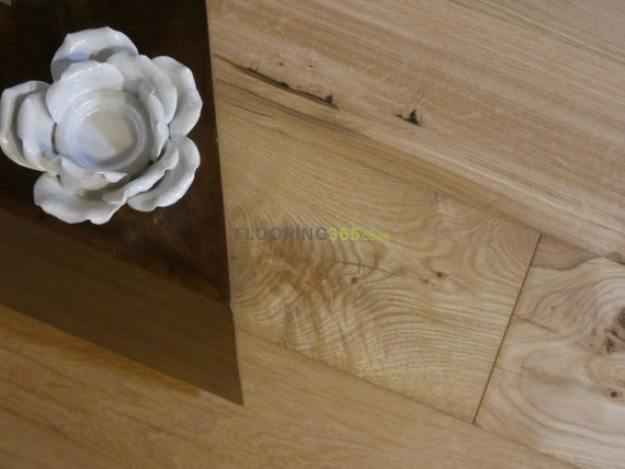 Barnworth Engineered Natural Oak Brushed and Oiled 190mm x 14/3mm Wood Flooring