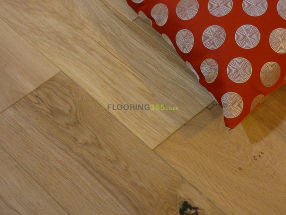 Fyfield Engineered Natural Oak Brushed and Oiled 150mm x 18/5mm Wood Flooring