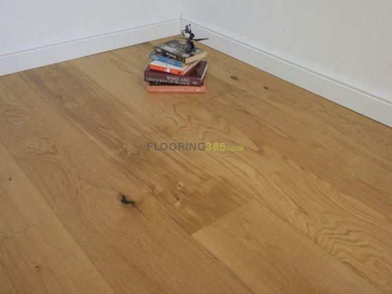Calder Elite Engineered Natural Oak Brushed and Oiled 240mm x 15/4mm Wood Flooring (Wooden Flooring)