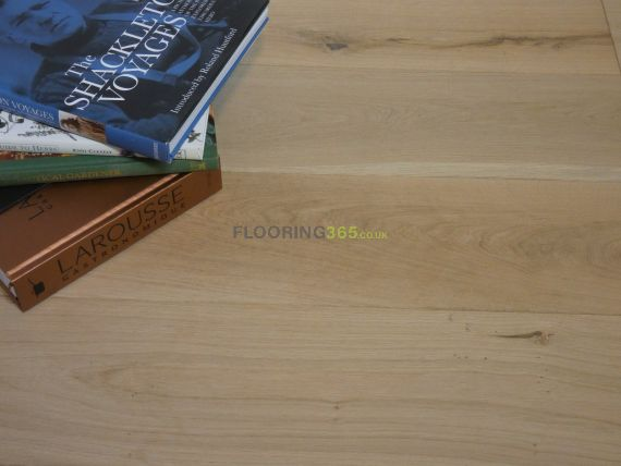 Fyfield Elite Engineered Unfinished Oak 190mm x 20/6mm Wood Flooring