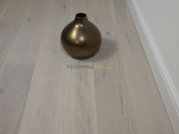 Cressington Engineered White Oak Brushed and Lacquered Click Lok 165mm x 10/1.2mm Wood Flooring