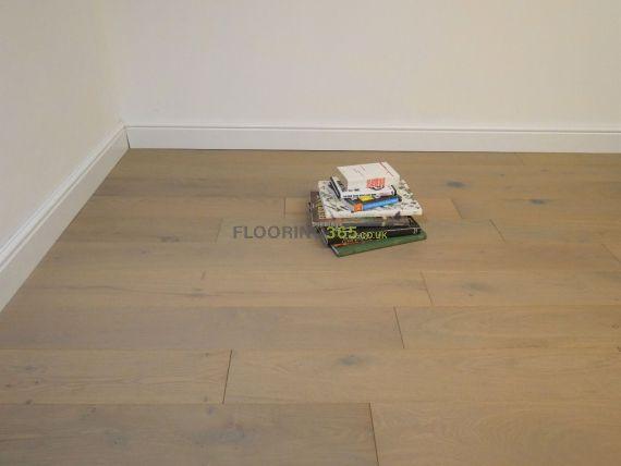 Hillingdon Engineered Platinum Grey Oak Brushed and Oiled 150mm x 18/4mm Wood Flooring