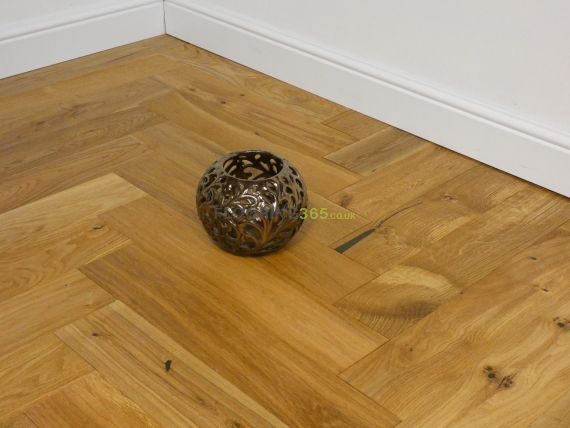 Sawbury Engineered Natural Oak Brushed and Oiled 120mm x 15/4mm Parquet Wood Flooring
