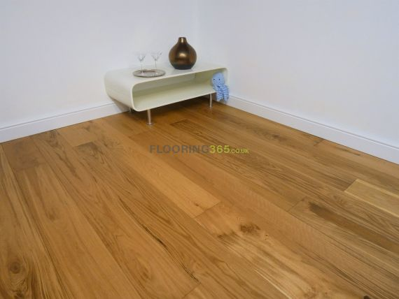 Barnworth Engineered Natural Oak Brushed and Oiled 180mm x 14/3mm Wood Flooring