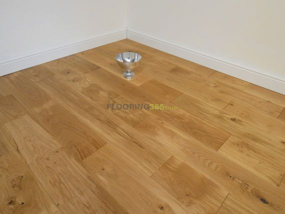 Highgate Solid Natural Oak Brushed & Oiled 180mm X 18mm Wood Flooring
