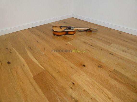 Cressington Engineered Natural Oak Lacquered Click Lok 165mm x 10/1.2mm Wood Flooring