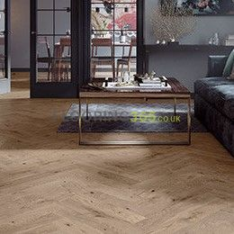 Sawbury Engineered French Chateau Brushed and Matt Lacquered Click Lok 130mm x 14/2.5mm Parquet Wood Flooring