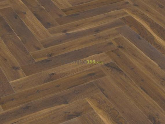 Sawbury Engineered Walnut Oak Brushed and Matt Lacquered 125mm x 15/4mm Parquet Wood Flooring