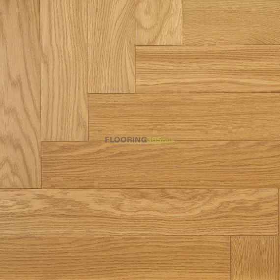 Sawbury Elite Engineered Natural Oak Lacquered **Prime** 70mm x 11/4mm Parquet Wood Flooring (Wooden Flooring)