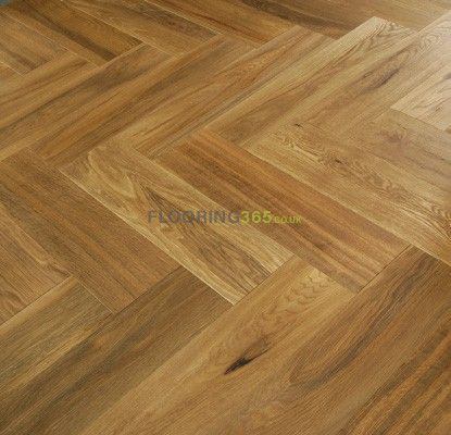 Sawbury Engineered Natural Oak Brushed and Lacquered Click Lok 150mm x 14/3mm Parquet Wood Flooring