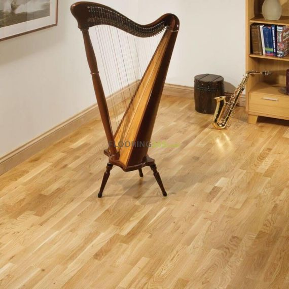 Henley Engineered Natural Oak Lacquered Click Lok 207mm x 14/3mm Wood Flooring