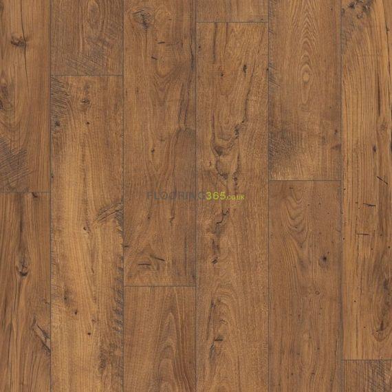 Quickstep Reclaimed Chestnut Antique 8mm Eligna Wide Laminate Flooring (Wooden Flooring)