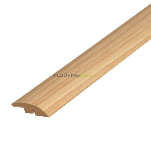 Solid Oak Semi Ramp (Wood to Carpet) To Complement Natural Oak Flooring 0.9m Length