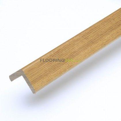 Golden Solid Oak Stair Nosing To Complement Golden Flooring 2.7m