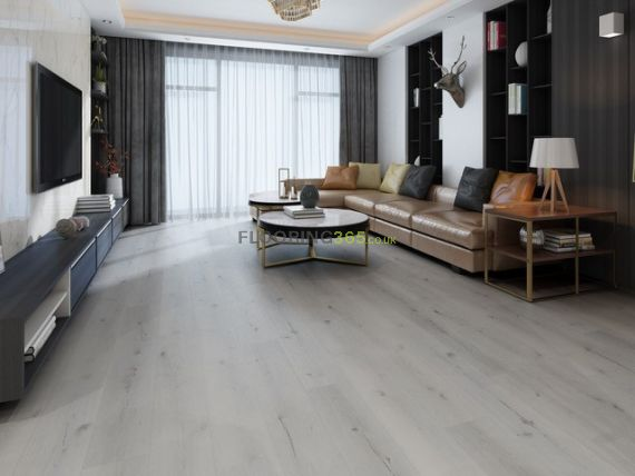 Hillingdon Luxury Vinyl French White 180mm x 5/0.5mm LVT Flooring
