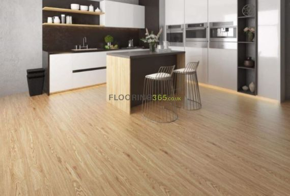 Hillingdon Luxury Vinyl Golden Oak 180mm x 4/0.5mm LVT Flooring (Wooden Flooring)