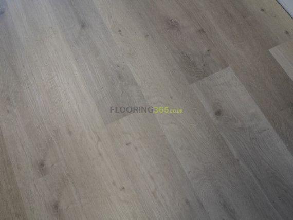 Hillingdon Luxury Vinyl Silk Grey 180mm x 5/0.5mm LVT Flooring