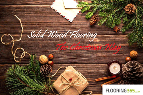 Solid Wood Flooring – the Christmas way