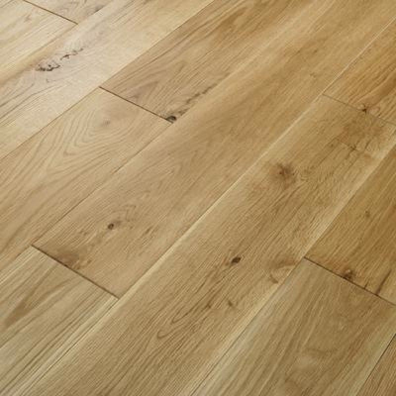 Glanwell Engineered Natural Oak Brushed and Oiled 125mm x 18/4mm Wood Flooring