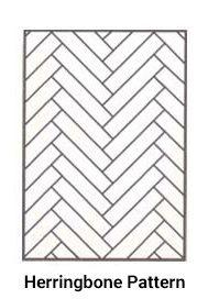 Parquet Flooring Styles - Herringbone